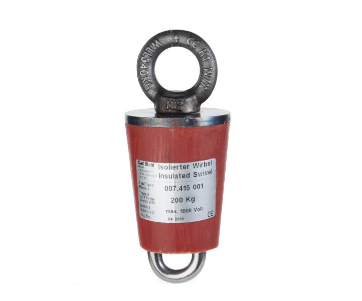 Insulated load swivel