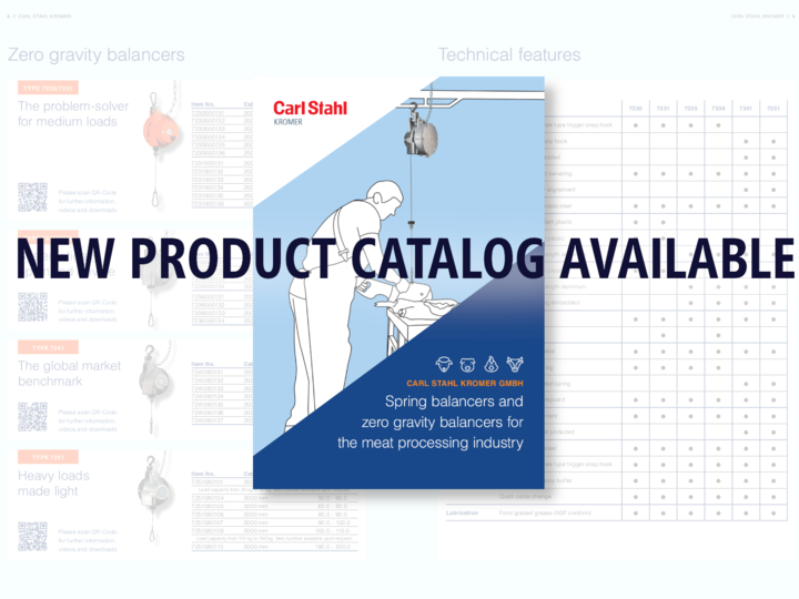 New product catalog available