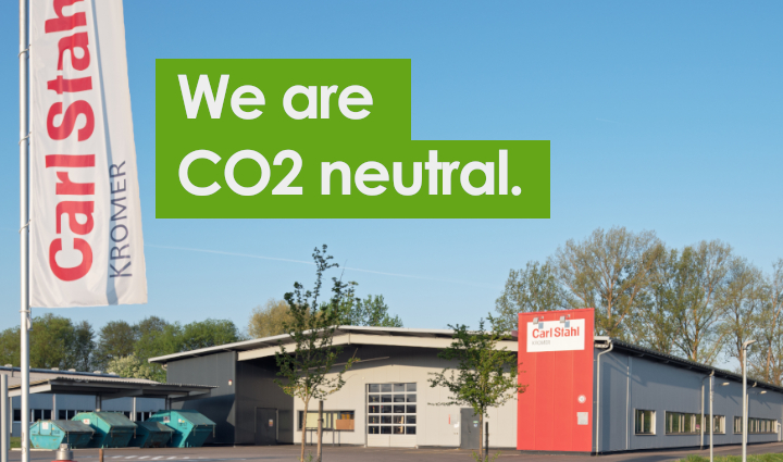 Why we are a CO2 neutral company